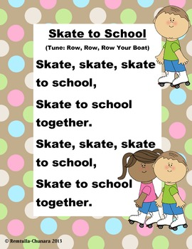 Skate to School Poem