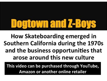 Skateboarding Business Video Questions Dogtown and Z-Boys