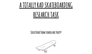 Skateboarding Research Guide MLA, Paraphrasing, Bibliograp