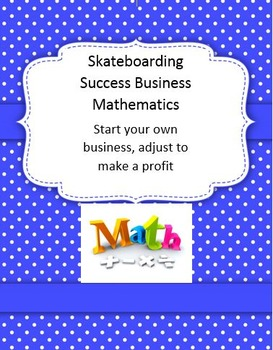 Skateboarding Success Business Math 1 2 3