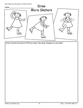 Skater (Draw Then Write)