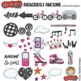 "Skater Girl / Teen Girl Clip Art: ""Audaciously Awesome"""
