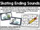 Skating Ending Sounds - Final Sound Identification