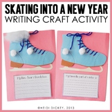 Skating Into A New Year: A New Years and Winter Craftivity