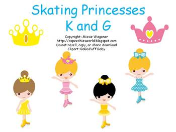 Skating Princesses K and G
