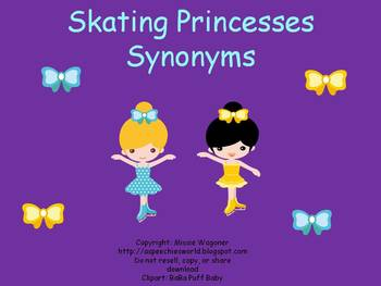 Skating Princesses Synonyms
