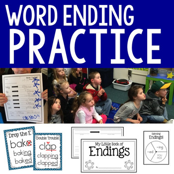 Word Endings {A Winter-Flavored Study}