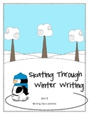Skating Through Winter Writing-Common Core Aligned