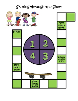 Skating through the Sixes - Multiplying with 6