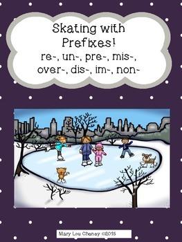 Skating with Prefixes (re-, un-, pre-, mis-, over-, dis-, im-, non-)