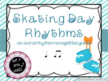 Skating Day Rhythms -- An Aural Rhythm Recognition Game {ta titi}