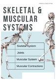 Skeletal & Muscular Systems Booklet
