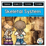Human Body Systems: Our Skeletal System Unit with Leveled Passages & Activities