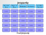 Skeletal System Bones Jeopardy PowerPoint Review Game A&P