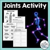 Bones, Joints Activity - Skeletal System Worksheet