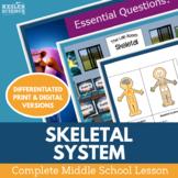 Skeletal System Complete 5E Lesson Plan