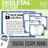 Skeletal System Science Escape Room