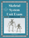 Skeletal System Exam / Summative Study Guide