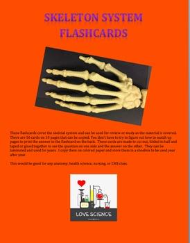 Skeletal System Flashcards