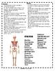 Skeletal System HS Crossword Puzzle