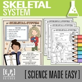 Skeletal System Made Easy- Student Notes and Powerpoint