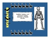 """Skeletal System """"Match Game"""" for Elementary Science"""