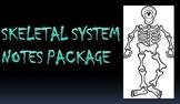 Skeletal System   PowerPoint Package