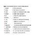 Skeletal System Open Notes Worksheet with KEY