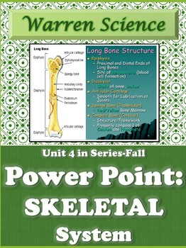 Skeletal System Power Point