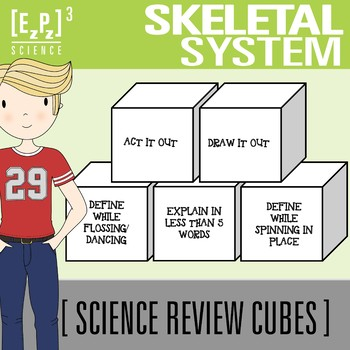 Skeletal System Science Cubes