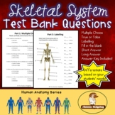 Skeletal System Test Bank Questions