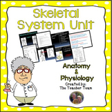 Skeletal System Unit Anatomy and Physiology Biology Unit