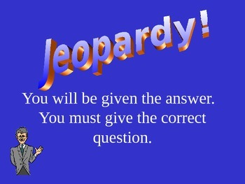 Skeletal and Muscular Systems Jeopardy