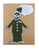 Skeleton Biography Paper Doll
