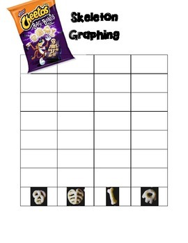Skeleton Bones and Marshmallow Graphing & Sorting