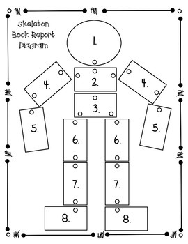 Story Skeleton Book Report Project FREEBIE