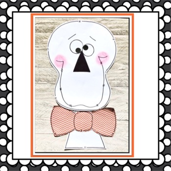 Halloween Skeleton Hiccups Book Companion Craft