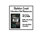 """Skeleton Creek"", by P. Carman, Entire Unit of Resources on CD!"