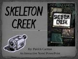 """Skeleton Creek"", by P.Carman, Interactive Novel Powerpoint"