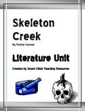"""Skeleton Creek"", by Patrick Carman, Literature UNIT, 51 pages"