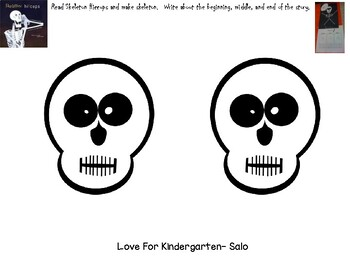 Skeleton Hiccups: a Halloween book and activity