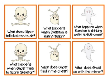 Skeleton Hiccups - Companion Pack (Comprehension, Retell, Rhyming, Sequencing)