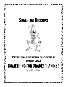 Skeletons Teaching Theme Activities & Lesson Plan Ideas