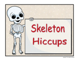 Skeleton Hiccups Comprehension Reading Strategies
