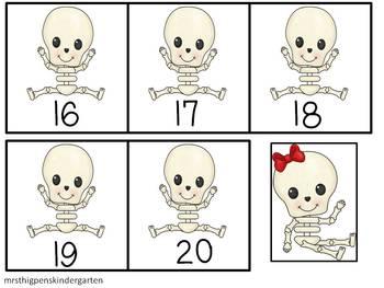 Skeleton Hide & Find--ABC's, 123's, & Colors