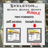 Skeleton-Labeling Bones for Google Docs &  PDF Format - Di