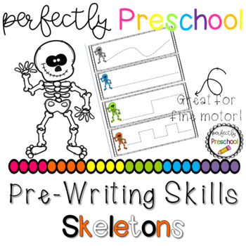 Skeleton Prewriting Skills {Dollar Deal}