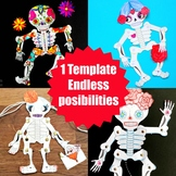 Skeleton Puppet - Multiple Use - STEAM Craft Activity (Les