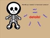 Skeleton Sentences