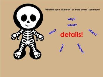 Skeleton Sentences